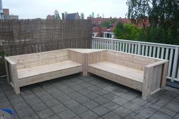 Krejaap meubels interieur foto 39 s for Steigerhout hoekbank bouwtekening